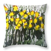 Divine Blooms-21085 Throw Pillow