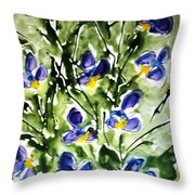 Divine Blooms-21169 Throw Pillow