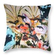 Divine Blooms-21171 Throw Pillow