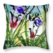 Divine Blooms-21174 Throw Pillow