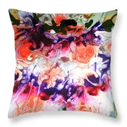 Divine Blooms-21175 Throw Pillow