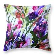 Divine Blooms-21176 Throw Pillow
