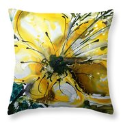 Divine Blooms-21179 Throw Pillow