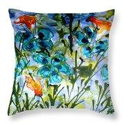 Divine Blooms-21180 Throw Pillow