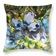 Divine Blooms-21200 Throw Pillow