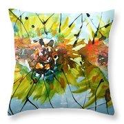 Divine Blooms-21202 Throw Pillow