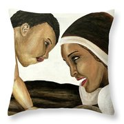 Divine Delight Throw Pillow