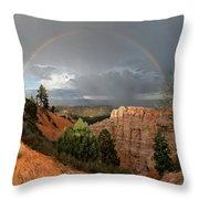 Divine Encounter Throw Pillow