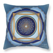 Divine Feminine - Cathedral Series Throw Pillow