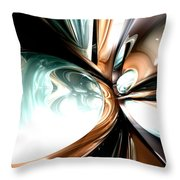 Divine Flavor Abstract Throw Pillow