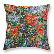 Divine Happiness. Throw Pillow
