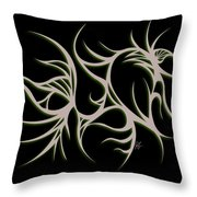 Divine Havoc Throw Pillow