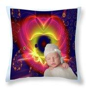 Divine Heart/bigstock - 92883674 Baby Throw Pillow