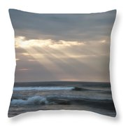 Divine Intervention Throw Pillow by Simon Wolter