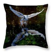 Divine Longing Throw Pillow
