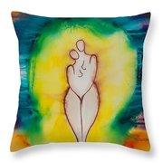 Divine Love Series No. 2079 Throw Pillow