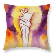 Divine Love Series No. 2084 Throw Pillow