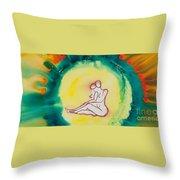Divine Love Series No. 2086 Throw Pillow