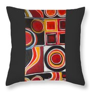 Divine Magnetism Throw Pillow