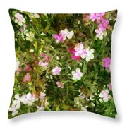 Divine Maidens Throw Pillow