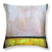 Divine Of Canola Field Throw Pillow