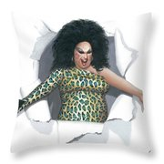 Divine Pop Out Throw Pillow