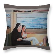 Divine Secrets Throw Pillow