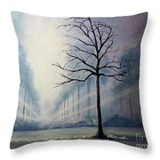Divine Serenity Throw Pillow