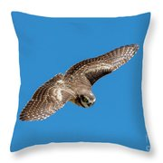 Diving For Home Throw Pillow
