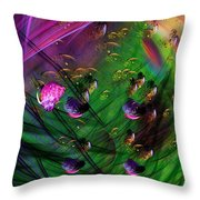 Diving The Reef Series - Hallucinations Throw Pillow