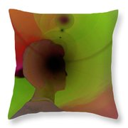 Division Bell Throw Pillow
