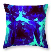 Division Of Light Throw Pillow
