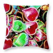 Diwali Decorations 3 Throw Pillow