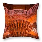 Diwan-i-khas Throw Pillow