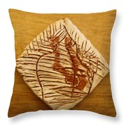 Dizzy - Tile Throw Pillow