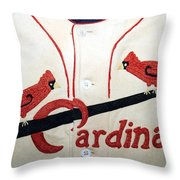 Dizzy Dean And The Gashouse Gang Throw Pillow