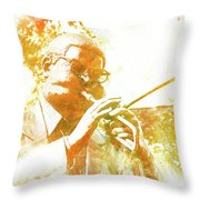 Dizzy Gillespie Cheraw South Carolina 2 Throw Pillow