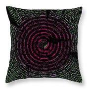 Dizzy Wheel Throw Pillow