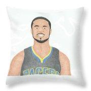 Dj Augustin Throw Pillow
