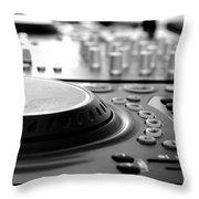 Dj Life Throw Pillow