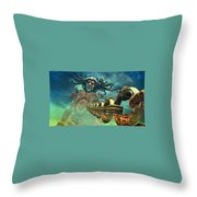 Dmc Devil May Cry Throw Pillow