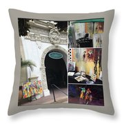 Dmrt Throw Pillow