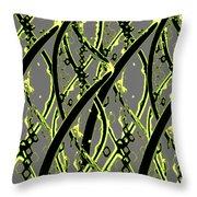 Dna Design Throw Pillow