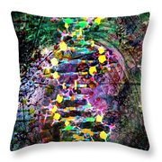 Dna Dreaming 7 Throw Pillow