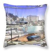 Do-00048 Cullen Bay Throw Pillow