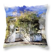 Do-00118 Gazebo Throw Pillow