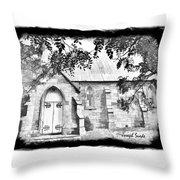Do-00273 St John Church Throw Pillow