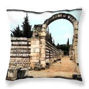 Do-00310 Arcade In Anjar Throw Pillow