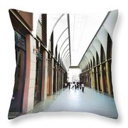 Do-00355 New Market In Downtown Throw Pillow