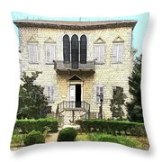 Do-00461 Yazbeck Palace Throw Pillow